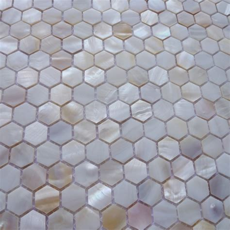 Of Pearl Mini Subway Tile by Aliexpress Koop Mini 15mm Zeshoek Natuurlijke