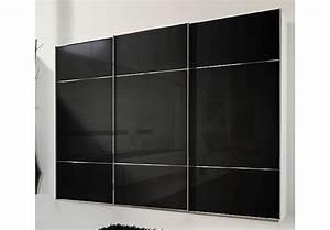 Kleiderschrank Weiß 300 Cm : kleiderschrank marcato von nolte schwarzglas wei b 300 cm ~ Bigdaddyawards.com Haus und Dekorationen