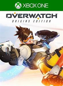 Overwatch Origins Edition 2016 Xbox One Box Cover Art