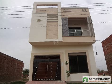 Marla House Design Story by 3 5 Marla House For Sale In Jewan City Phase 1 Sahiwal