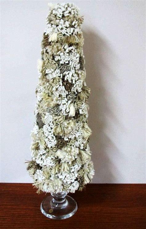 shabby chic christmas tree decorations ideas