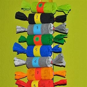 Adventskalender Aus Klopapierrollen : adventskalender selber basteln aus klopapierrollen und krepp papier ~ Watch28wear.com Haus und Dekorationen