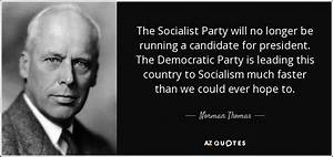 Time to Re-bran... Socialist Party Quotes