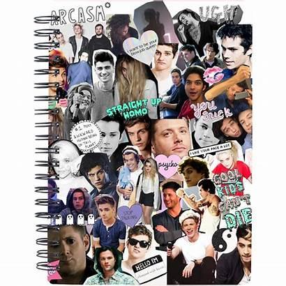 Collage Cuadernos Tus Decora Estilo Notebook Decorados