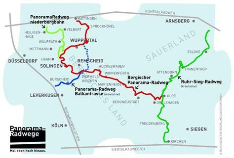 Fahrradwege Nrw Karte