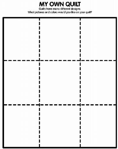Quilt Coloring Own Crayola Pages Preschool Paper