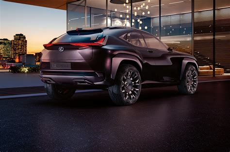 lexus bmw lexus ux concept revealed ahead of its paris debut motor