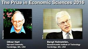 It's Agreed: Nobel Prize In Economics Awarded For Contract ...