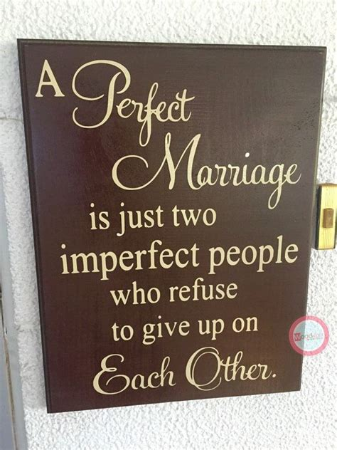 perfect marriage wedding gift wedding sign home decor