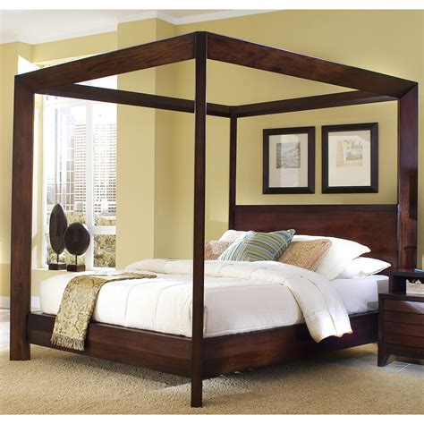 king size canopy bed ashley furniture manhattan