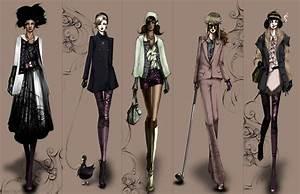 I LOVE LIFTING THINGS: Fashion illustrations!
