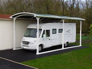 Carport Camping Car : abri camping car carport coverstyle ~ Dallasstarsshop.com Idées de Décoration