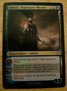ashiok nightmare weaver deck 1000 images about world of magic the gathering on