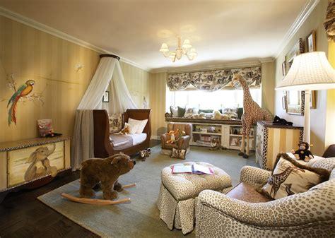 An Elegant Jungle Nursery Or Big Kid's Room