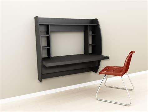 wall mounted computer desk classic and modern black computer desk designs for touches atzine