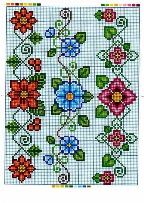 punto de cruz  croche images  pinterest cross stitch patterns embroidery