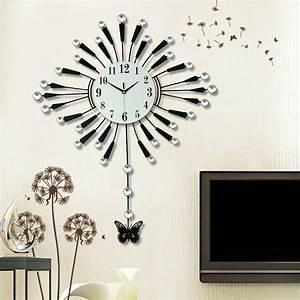Grossiste Horloge Murale Design Grande Taille Acheter Les