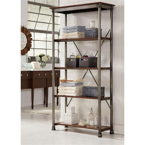 Bookcase Shelving Unit by Home Styles Five Shelf 38 In W X 76 In H X 16 In D