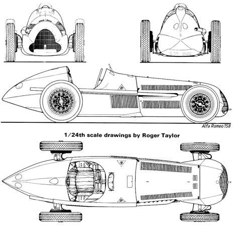 alfa romeo  alfetta cabriolet blueprints