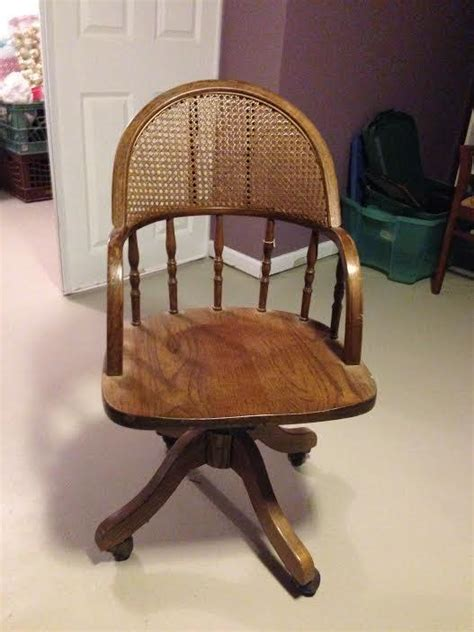 antique oak swivel desk chair with from krrb local epic