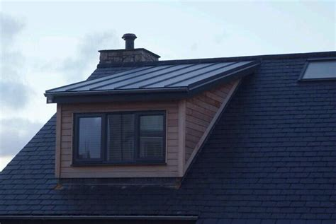 Flat Roof Dormer Window Designs by Colorcoat Roof And Wood Cladding For My Dormers