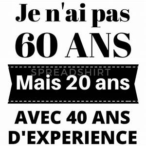 Cadeau Homme 60 Ans : cadeau anniversaire 60 ans de musterman spreadshirt ~ Teatrodelosmanantiales.com Idées de Décoration