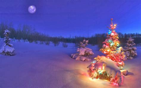 desktop backgrounds  christmas scenes