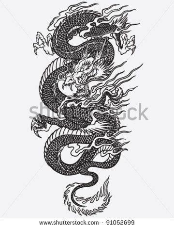 detailed dragon tattoo linework tattoos tatouage