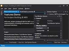 DockingMDI for WPF Huge Metro Theme Updates