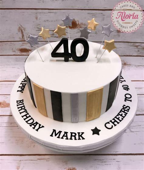 elegant picture   birthday cakes  men