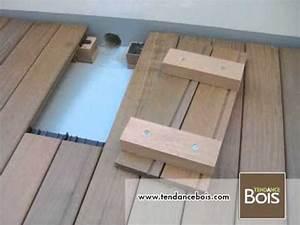 Terrasse En Caillebotis : trappe de visite pour terrasse en bois youtube ~ Premium-room.com Idées de Décoration