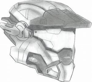 Halo Reach: carter's helmet by FireWolfMaster on DeviantArt