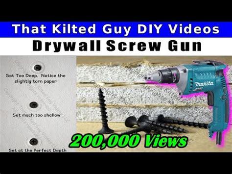 drive drywall screws   pros  hanging