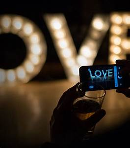 light up wedding love letters to hire in yorkshire With light up love letters