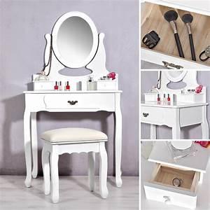Schminktisch Hocker Ikea : schminktisch inkl hocker spiegel frisierkommode ~ A.2002-acura-tl-radio.info Haus und Dekorationen
