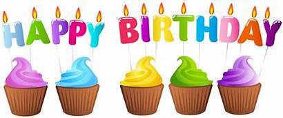 Birthday Cake Cupcake Happy Transparent Clip Candle