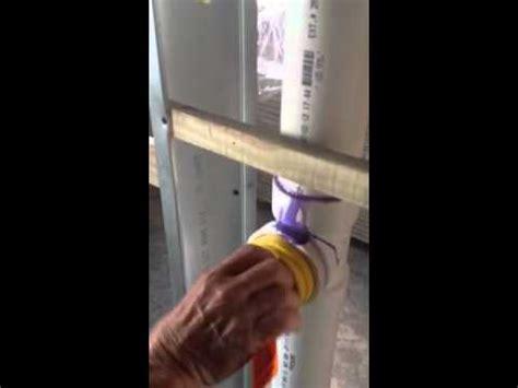 pulling  plumbing test youtube