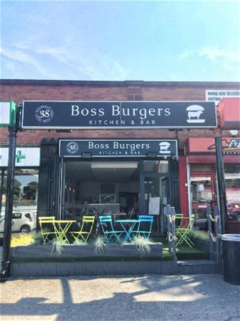 View Of Boss Burgers From The Street  Picture Of Boss