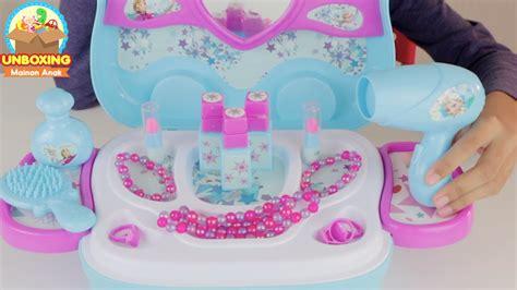 mainan anak perempuan frozen beauty set disney frozen
