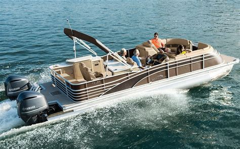 Bennington Pontoon Boat In Rough Water by Indulge The Need For Speed Yes Fast Pontoon Boats Exist