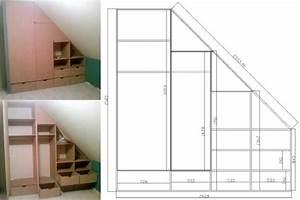 Placard Sous Pente. conception et installation de placard sous pente ...