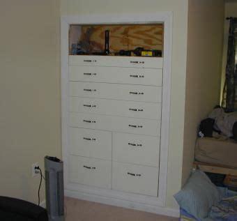 built  knee wall dressers built  dresser knee