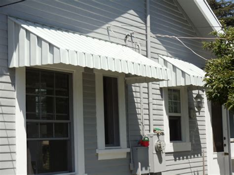 An Aluminum Door Awnings Offers You As Well As Your Door
