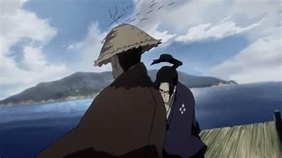 Anime Samurai Champloo Fighting Jin Gifs Fight