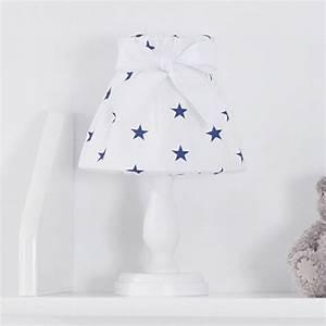 Lampe Chevet Enfant : lampe de chevet chambre enfant toile bleues jurassien ~ Teatrodelosmanantiales.com Idées de Décoration