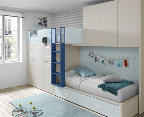 chambre avec lit superposé chambre enfant avec lit superposé et armoire meubles ros