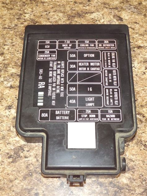 1995 Civic Ex Fuse Box by 92 95 Oem Usdm Honda Civic Sr3 Eg Eg6 Eg9 Ej1 Engine Bay
