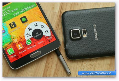 Memoria Interna Samsung S5 Samsung Galaxy Note 4 Vs Galaxy S5 Confronto E Differenze
