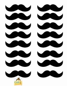 image gallery moustache templates printable With mustache print out template