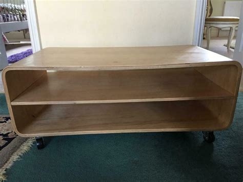 152.56 kb, 523 x 523. Contemporary Beech Bentwood Coffee Table with Shelf on ...